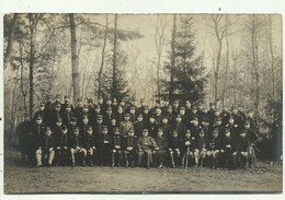 Militairen -Top Officieren - Kamp Van Beverloo- Fotokaart ( 2 Scans) - Leopoldsburg (Camp De Beverloo)