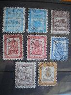 MAROC ESPAGNOL - MELILLA - 13 Timbres De Franchise - 2 Photos - Variétés Piquage, Format, 4 Non Dentelés - Morocco (1891-1956)