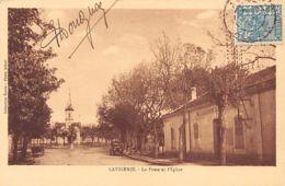 LAVIGERIE Djendel - La Poste Et L'église - Algérie