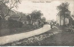 Villers-aux-Tours - Fécher - Vue Animée - 2 Scans - Anthisnes