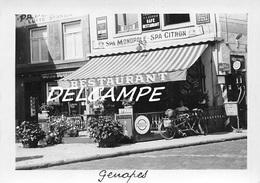 """BELGIQUE - GENAPPE - Café Restaurant """"Au Roi Albert"""" Emile Lacroix. Photo Originale - Places"""