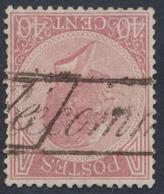 émission 1865 - N°20 Annulé Par Griffe Encadré RECOMMANDE, Pas Courant. TB - 1865-1866 Profile Left