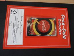 Telefonkarte Coca - Cola Mit Garantie-Zertifikat 1997 - Coca-Cola