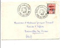 MIGNONETTE DE SAILLY SUR LA LYS PAS DE CALAIS 1959 - Marcophilie (Lettres)