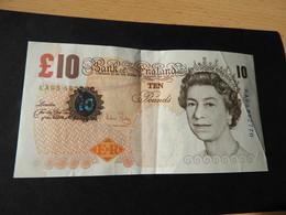 Banknot England 10 Pound 2000 - 1952-… : Elizabeth II