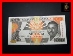 TANZANIA 200 Shilingi 1993 P. 25 A  UNC - Tanzanie