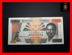 TANZANIA 200 Shilingi 1993 P. 25 B   XF - Tanzanie