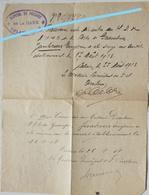Message ABL Hôpital De La Gare CALAIS 1918 Info Transfert Blessé Vers Hôpital Militaire De Gravelines Eugène Janbroers - Timbres