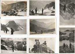 St Christophe D Oisans-Bourg D Oisans-Casimir Rodier -Le Chalet De La Neige 17 Photos De 1943et1949 De 11x6 15€ Le Lot - Sonstige Gemeinden