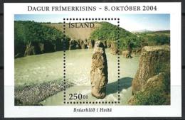 Iceland Island 2004. Mi Block 36, Postfrisch**, MNH - Blokken & Velletjes
