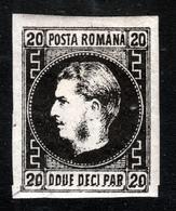 ROMANIA  1866  20 Par  MH - 1858-1880 Fürstentum Moldau