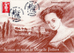 Aramon Diane De Poitiers 1994 - Cartes-Maximum