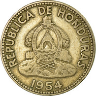 Monnaie, Honduras, 10 Centavos, 1954, TTB, Copper-nickel, KM:76.2 - Honduras