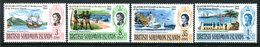 British Solomon Islands 1968 Quatercentenary Of The Discovery Of Solomon Islands Set MNH (SG 162-165) - Iles Salomon (...-1978)