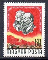 HONGRIE. N°1733 De 1965. Karl Marx/Lénine. - Karl Marx