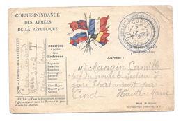 CPA Correspondance Des Armées De La République - Camille Mangin, Chef Du Groupe 3 Gare Chatonrupt - Sonstige Gemeinden