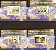 Georgia Georgie 2006 Yvertn° Bloc 35-38 *** MNH Cote 20 Euro - Géorgie