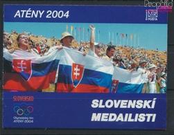 Slowakei MH0-51 (kompl.Ausg.) Postfrisch 2004 Medaillengewinner (9445598 - Slovacchia