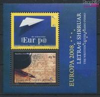 Kosovo Block9 (kompl.Ausg.) Postfrisch 2008 Europa (9445582 - Kosovo