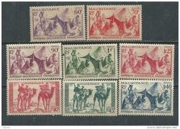 Mauritanie N° 105 / 12 XX Partie De Série. Les 8 Valeurs Sans  Charnière, TB - Unused Stamps