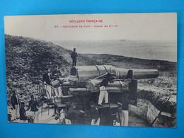 17) Ile D'aix - N° 56 - Artillerie De Cote - Canon De 27 C/m - EDIT - Labouche - France