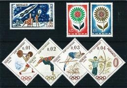 Mónaco Nº 636-652/3-654/7 Nuevo - Unused Stamps
