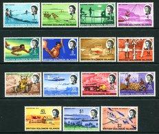 British Solomon Islands 1968-71 Pictorials Set MNH (SG 166-180) - Iles Salomon (...-1978)