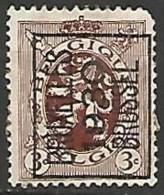 BELGIQUE / PREOBLITERE  N°  COB 222A OBLITERE - Typo Precancels 1929-37 (Heraldic Lion)