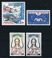 Mónaco Nº 616/19 Nuevo - Unused Stamps