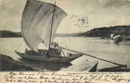 Sandeman's Port Coming Down The Douro Bateau Vin RV Timbre Two Cents - Porto