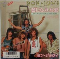 Bon Jovi - 45t Vinyle - You Give Love A Bad Name - Japon - Hard Rock & Metal