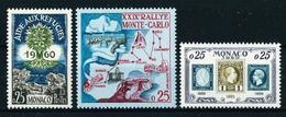 Mónaco Nº 523/5 Nuevo - Unused Stamps