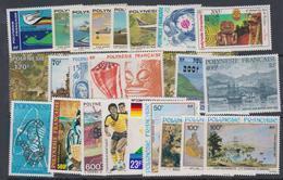 Polynésie Lot De  24 Timbres De Poste Aérienne à 50 % De La Faciale ! Neuf Sans Charnière, TB - Collections, Lots & Séries