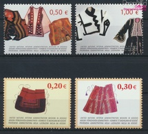 Kosovo 22-25 (kompl.Ausg.) Postfrisch 2004 Trachten (9445588 - Kosovo