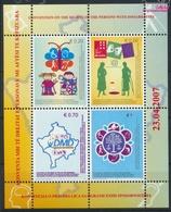 Kosovo Block5 (kompl.Ausg.) Postfrisch 2007 Rechte Behinderter Menschen (9445586 - Kosovo