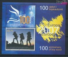 Kosovo Block6 (kompl.Ausg.) Postfrisch 2007 Pfadfinder (9445584 - Kosovo