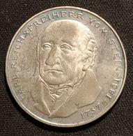 ALLEMAGNE - 5 DEUTSCHE MARK 1981 - Carl Reichsfreiherr Vom Stein - KM 155 - [ 7] 1949-… : RFA - Rep. Fed. Tedesca