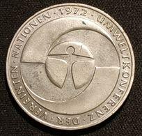 ALLEMAGNE - 5 DEUTSCHE MARK 1982 - Conférence Des Nations Unies Sur L'environnement - KM 157 - [ 7] 1949-… : RFA - Rep. Fed. Tedesca