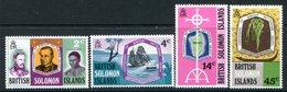 British Solomon Islands 1971 Death Centenary Of Bishop Patterson Set MNH (SG 205-208) - Islas Salomón (...-1978)