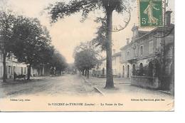 CPA (40) SAINT VINCENT De TYROSSE  La Route De Dax - Saint Vincent De Tyrosse