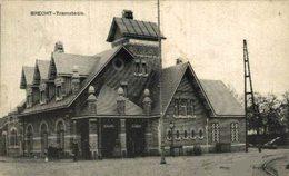 BRECHT  TRAMSTATIE 1911    ANTWERPEN ANVERS - Brecht