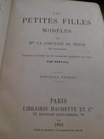 Les Petites Filles Modèles COMTESSE DE SEGUR Hachette 1892 - Bücher, Zeitschriften, Comics