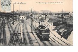 CPA (33) Bordeaux Vue Panoramique De La Gare Du Midi - Bordeaux
