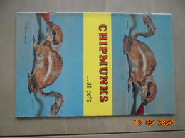 Chipmunks As Pets By Robert Gannon. T.F.H. Publications 1959. - Books, Magazines, Comics