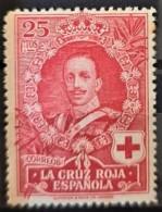 SPAIN 1926 - MLH - Sc# B7 - 25c - Unused Stamps