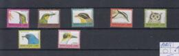 Sierra Leone Michel Cat.No. Mnh/** 1910/1916 VIII Defs Birds - Sierra Leone (1961-...)