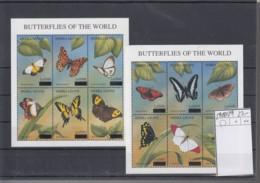 Sierra Leone Michel Cat.No. Mnh/** Sheet 5018/5029 Butterfly - Sierra Leone (1961-...)