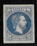 Espagne Carliste N°2 - Impression En Bleu - Aminci - Carlistes