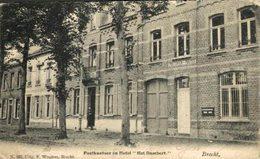BRECHT POSTKANTOOR EN HOTEL HET DAMBERT DAMHERT  NAAR WUUSTWEZEL   ANTWERPEN ANVERS - Brecht