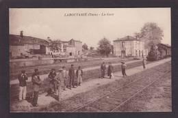 CPA Tarn 81 Laboutarié Non Circulé Gare Chemin De Fer Train - Autres Communes